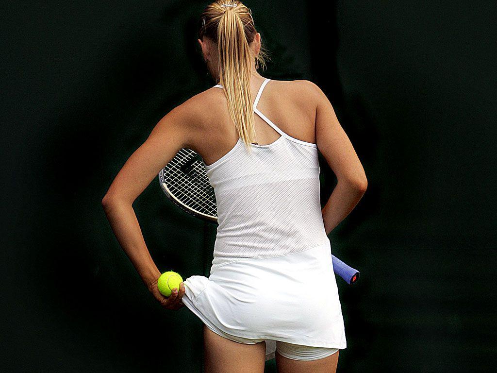 Maria sharapova has sexy ass